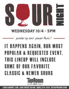 Sour Night @ TapRoom @ SD TapRoom | San Diego | California | United States