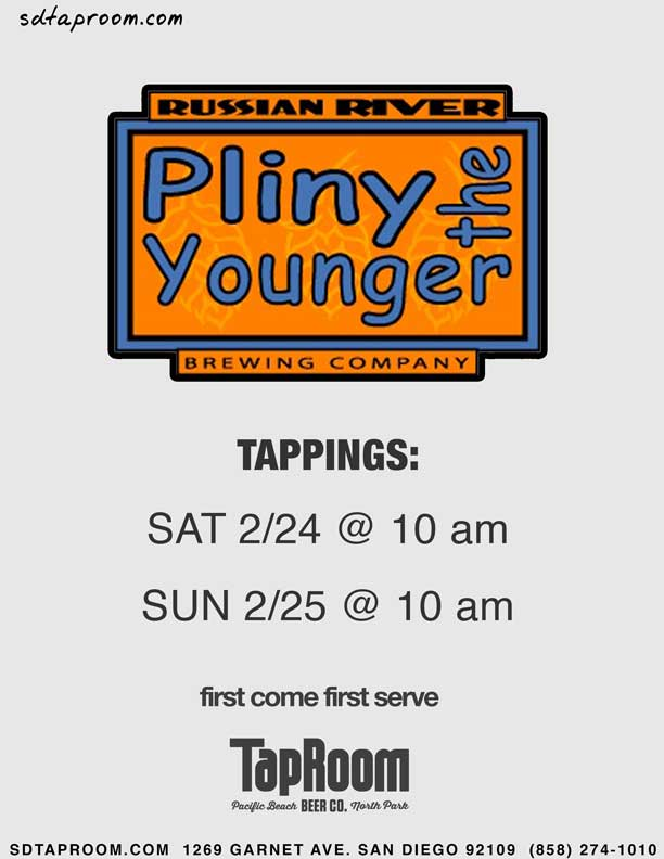 Pliny the Younger San Diego