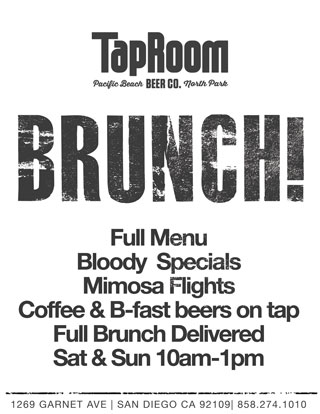 PB Best Brunch, craft beer brunch